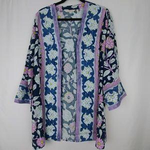 Soft Surroundings Floral Kimono